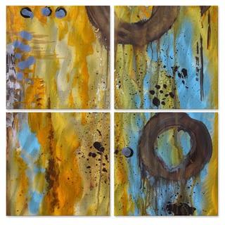 Marina Rehrmann 'Here or There' Metal Wall Art