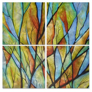 Peggy Davis 'Branches' Metal Wall Art