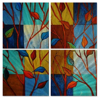Peggy Davis 'In Full Color' Metal Wall Art