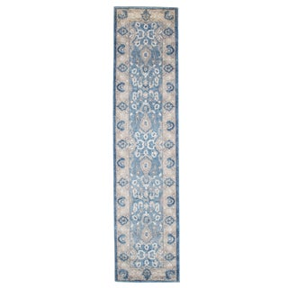 "Windsor Home Vintage Floral Rug - Blue - 1'8"" x 7'"