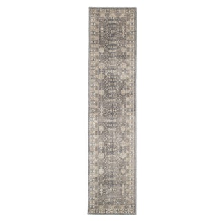 "Windsor Home Vintage Greek Rug - Grey Brown - 1'8"" x 7'"