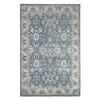 Windsor Home Vintage Floral Rug - Blue - 3'3 x 5'