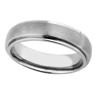 Men's Silver Titanium Band
