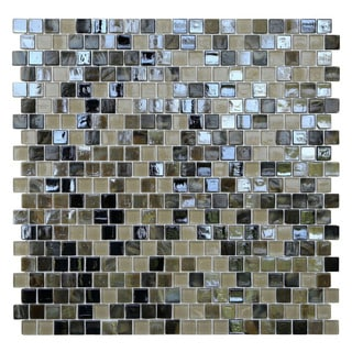 Opal Glass Mosaic Tiles (Pack of 10)