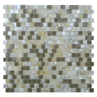 Opalescent Glass Mosaic Tile