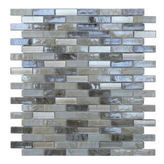 Opal Pearl Glass Mosaic Tile (Pack of 10)