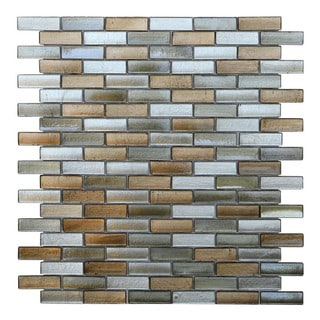 Opal Glass Mosaic Wall Tile (Pack of 10)