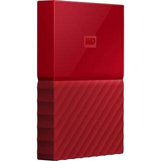 WD My Passport WDBYFT0030BRD-WESN 3 TB Hard Drive - External - Portab
