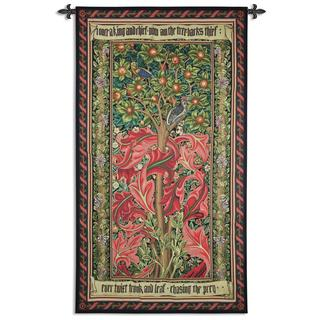 William Morris 'Woodpecker' Cotton Wall Tapestry
