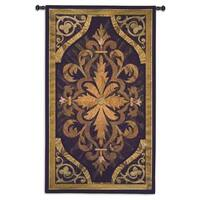 Multicolore Wood Inlay Wall Tapestry