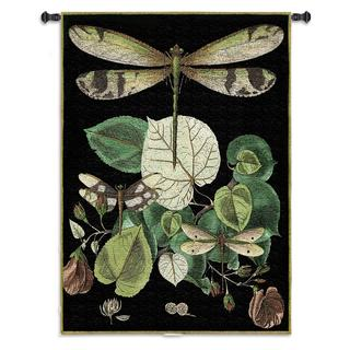 Fine Art Tapestries 'Whimsical Dragonfly II' Wall Tapestry