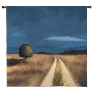 Fine Art Tapestries 'Way Home' Multicolor Cotton Wall Tapestry