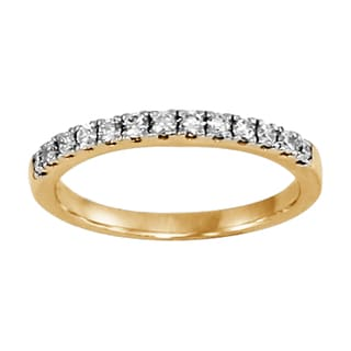 Regalia 14k White, Pink, or Yellow Gold 1/3ct TDW Diamond Ring (G-H, S1-S2)