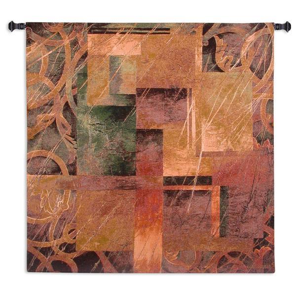 Fine Art Tapestries 'Visual Pattern II' Wall Tapestry