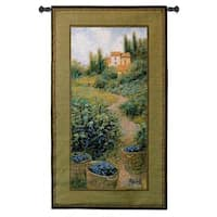 'Vineyard II' Cotton Wall Tapestry