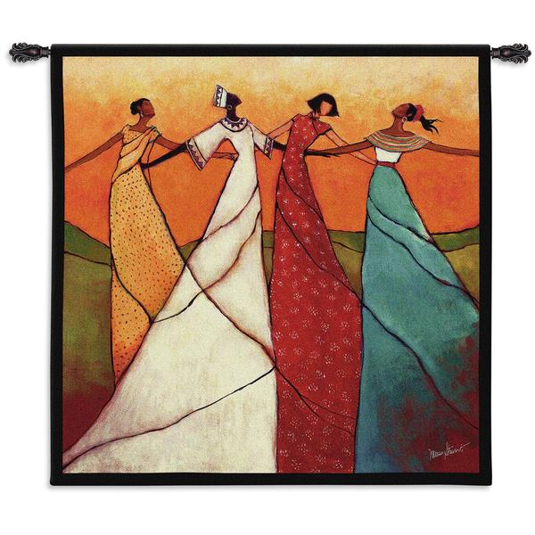 Shop Fine Art Tapestries \'Unity\' Large Cotton Wall Tapestry - Free ...