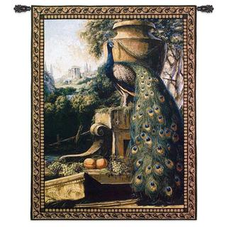 Un Paradise In Terra Cotton Wall Tapestry