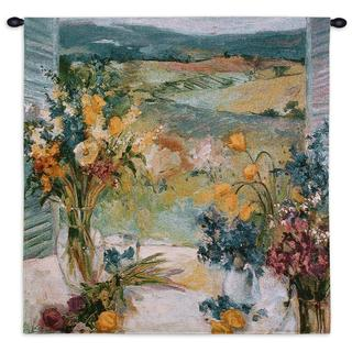 'Tuscany Floral' Small Wall Tapestry