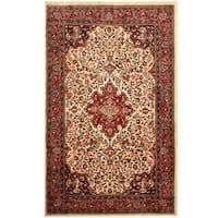 Handmade Herat Oriental Persian Tribal Sarouk Wool Rug (Iran) - 4'5 x 7'1