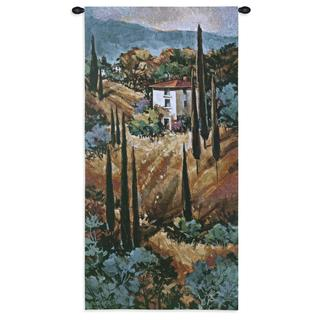 Fine Art Tapestries 'Tuscany Blue' Wall Tapestry