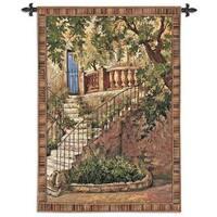 'Tuscan Villa I' Large Wall Tapestry