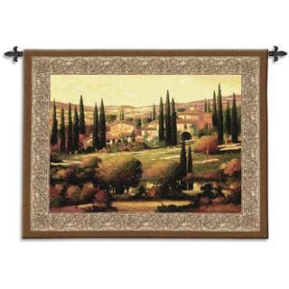 'Tuscan Gold' Cotton Wall Tapestry