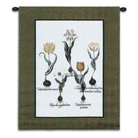 Fine Art Tapestries 'Tulip Study I' Wall Tapestry