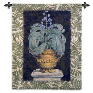 Fine Art Tapestries 'Tropical Urn I' Large Cotton Wall Tapestry