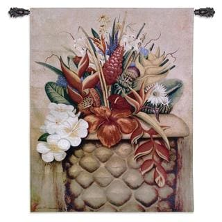 'Tropical Flora' Wall Tapestry