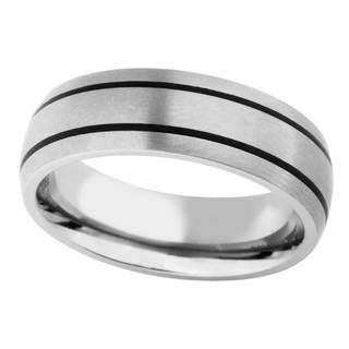 Titanium Men's Band - Silver