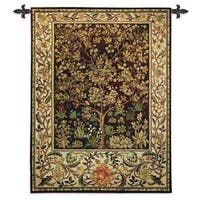 'Tree of Life' Umber Wall Tapestry