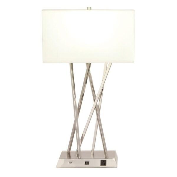 Benzara Alluring Metal Table Lamp