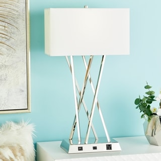 Benzara Alluring Metal Table Lamp