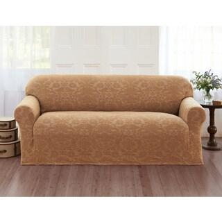 Sanctuary Velvet Damask Stretch Sofa Slipcover