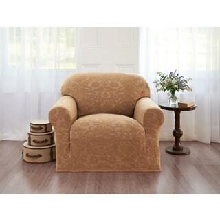 Sanctuary Velvet Damask Chair Slipcover