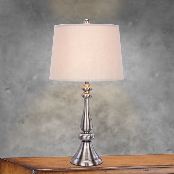 1484BBN 27.5 inch Metal Table Lamp in Brushed Black Nickel
