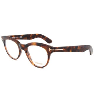 Tom Ford TF5378 052 Unisex Havana Frame 47 mm Lens Eyeglass Frames