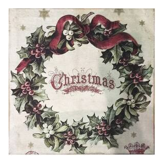 Multicolor Polyester/Cotton Vintage Christmas Square Rug (2' x 2') https://ak1.ostkcdn.com/images/products/13007728/P19751404.jpg?impolicy=medium