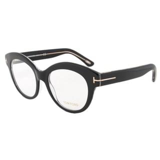 Tom Ford TF5377 005 Unisex Black Frame 52 mm Eyeglass Frames