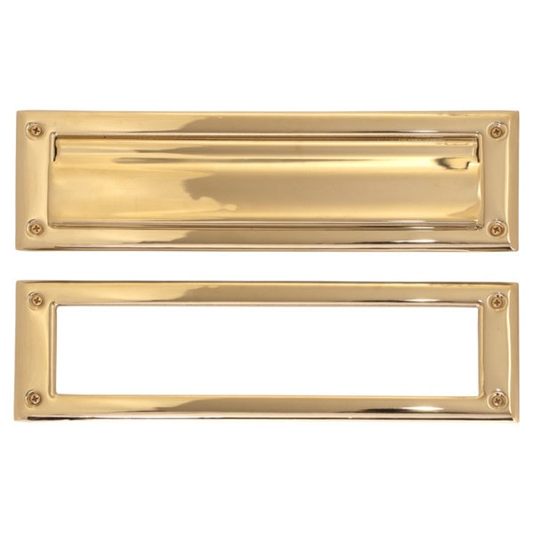 Brass 3 x 10-inch Mail Slot