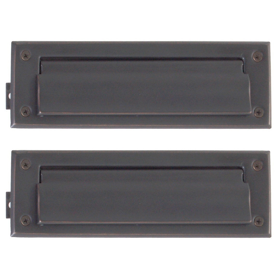 Brass Accents Solid Brass 3-inch x 10-inch Mail Slot (Sat...