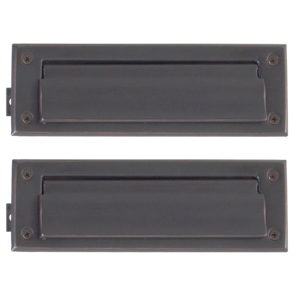 Solid Br 3 Inch X 10 Mail Slot