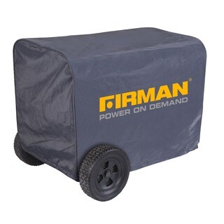 Firman Black Nylon Large Water-resistant 5000-8000 Watt Portable Generator Cover