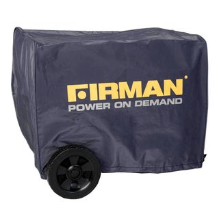 Firman Black Nylon Small Water-resistant 1000-2000 Watt Portable Generator Cover