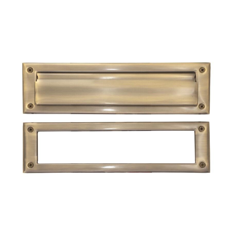 Brass Accents Brass 3.6 x 13-inch Mail Slot (Antique Brass)