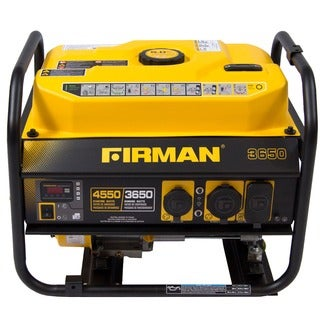 Firman Power Equipment P03607 Gas-powered Extended Run Time Portable CARB-compliant Generator