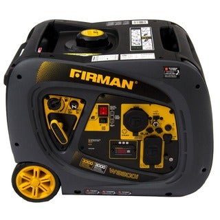 Firman Power Equipment Whisper Series Portable 3000/3300 Watt Gas Inverter Generator with Recoil Start