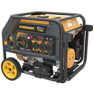 Firman H03651 Hybrid Series 3650 Watt Dual Fuel Portable Generator