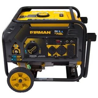 Firman Power Equipment H03652 Dual Fuel 4550/3650 Watt (Hybrid Series) Extended Run Time Generator with Recoil Start