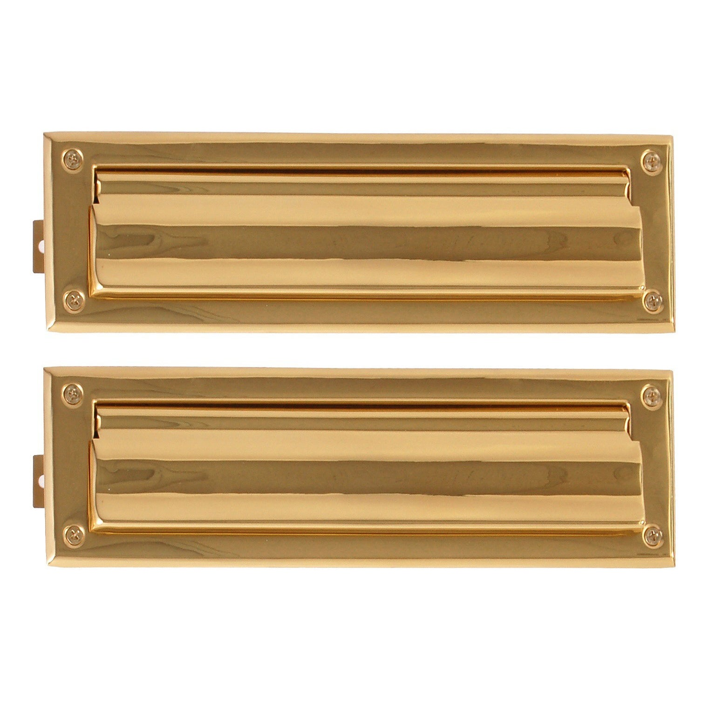 Brass Accents Brass 3-5/8 x 13-inch Mail Slot (Polished B...